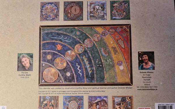 Celtic Calendar Back