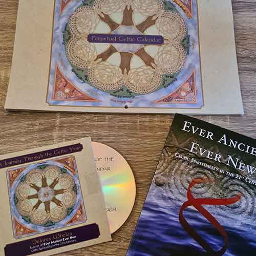 Ever Ancient, Ever New Book, A Journey through the Celtic Year CD & Perpetual Celtic calendar